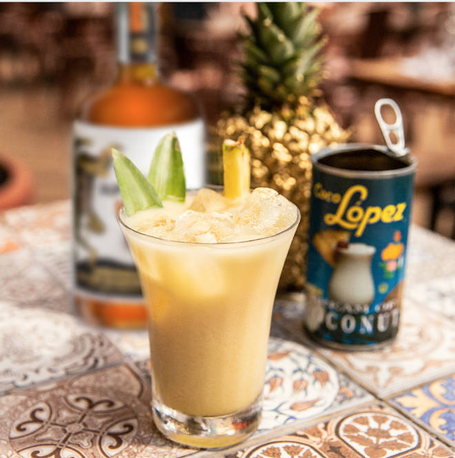 The Duppy Share Spiced Rum is the perfect base for a spiced twist
