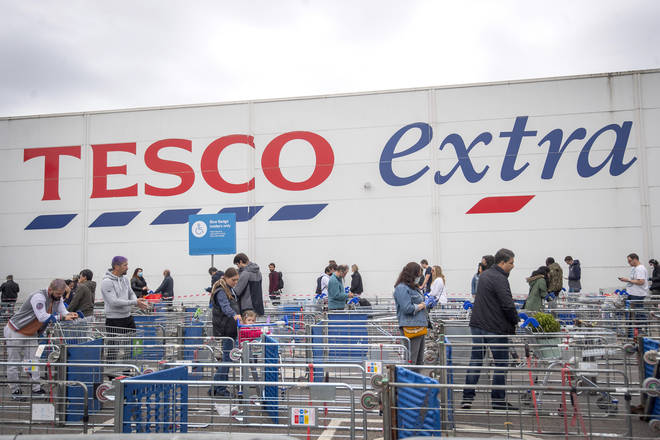 There are still limits for Tesco shoppers