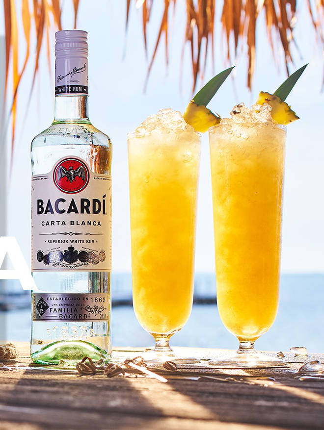 This mellow cocktail is perfect for BBQs