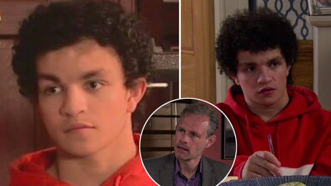 Coronation Street's Simon Barlow looked a little different