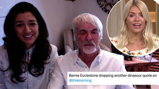 Bernie Ecclestone made some controversial comments about women and the BLM movement on This Morning