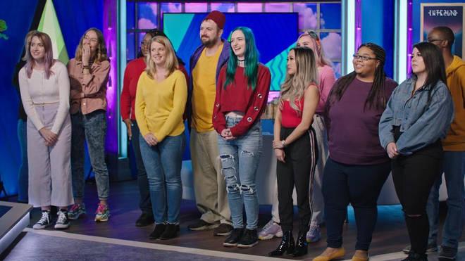 The show's 12 contestants