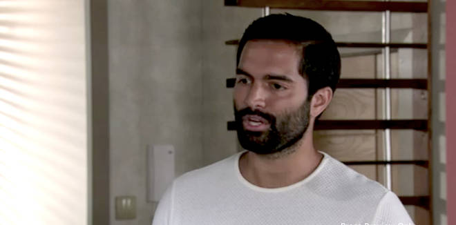 Imran from Coronation Street sported a new look