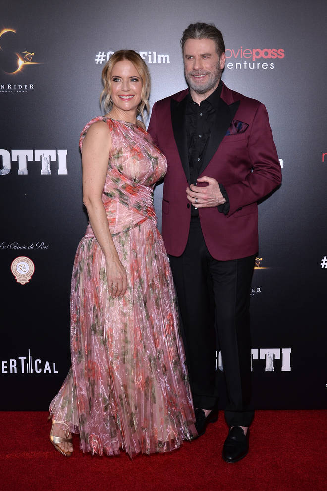 John Travolta has been married to Kelly for 28 years