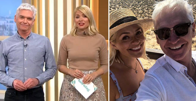 Holly Willoughby and Phillip Schofield are taking a break from This Morning