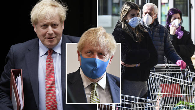 The Government are expected to announce new face covering rules this week