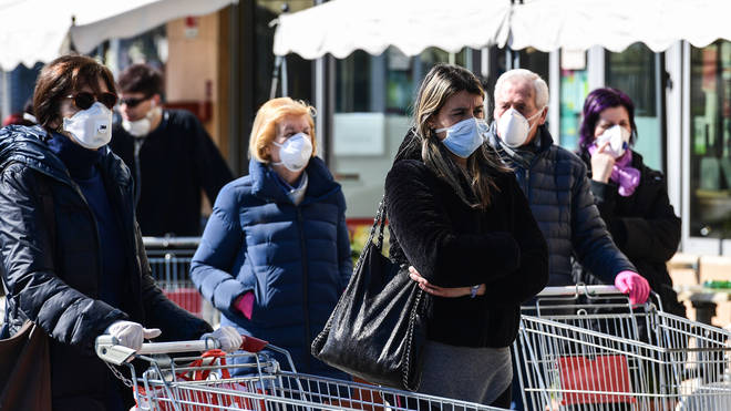The Government are said to be considering making masks mandatory in shops