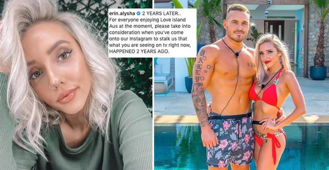 Love Island Australia's Eden Barnett has hit back at British fans