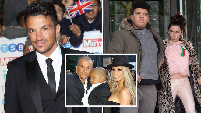 Peter Andre has spoken out after Harvey Price was rushed to hospital