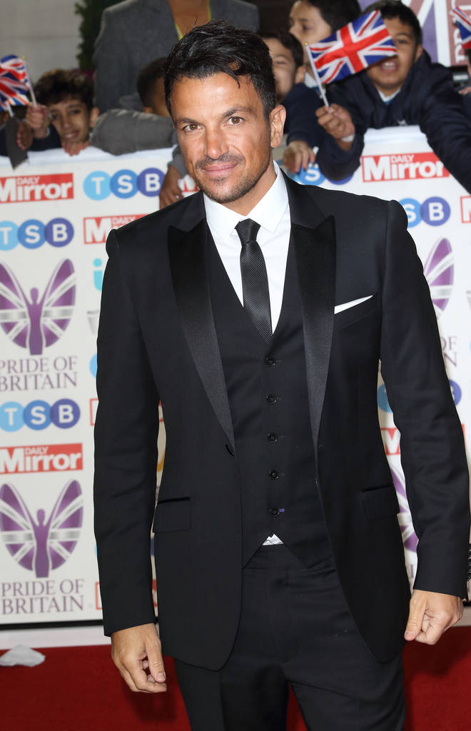 Peter Andre has remained close to Harvey since his split from Katie