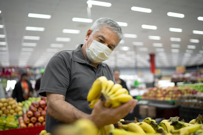 People not wearing face masks in shops will face fines