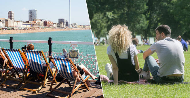 The weather is set to heat up in the UK this weekend