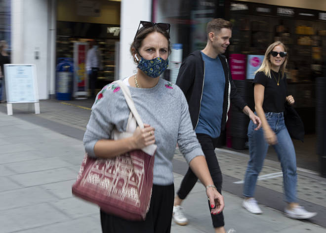 Face masks will be mandatory in the UK from July 24th