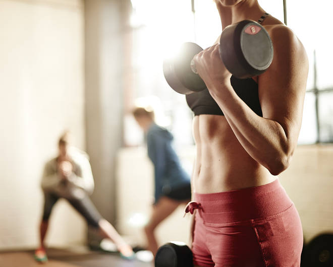 It is not yet known when indoor gyms will be able to open in Scotland and Wales (stock image)
