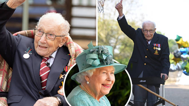 Captain Tom Moore will be knighted on Friday at Windsor Castle