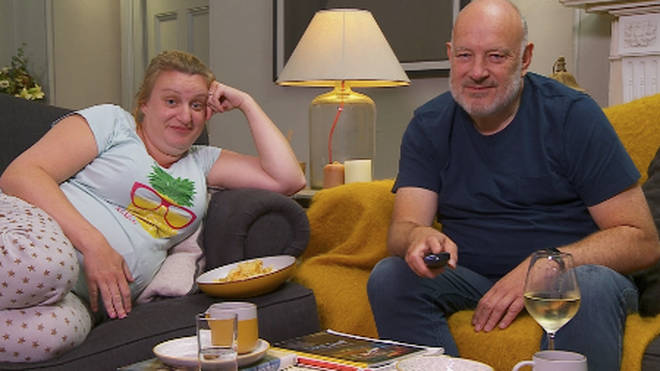 Daisy May Cooper appears on Celebrity Gogglebox with her dad