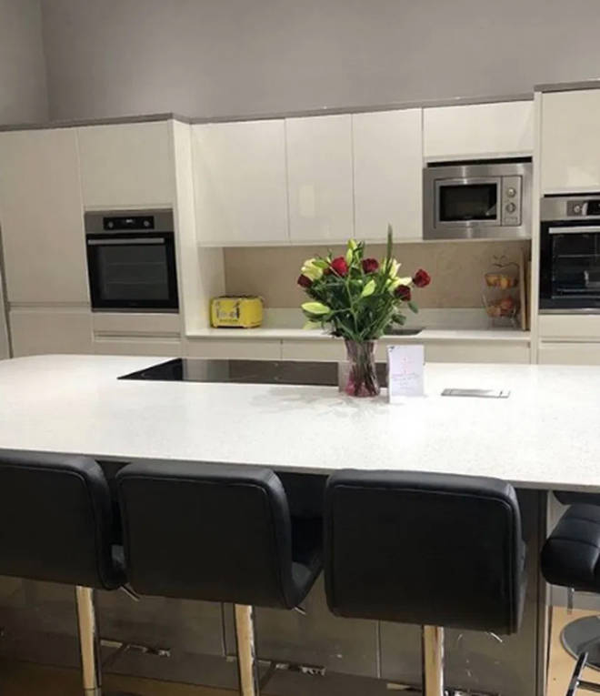 The Radford family kitchen