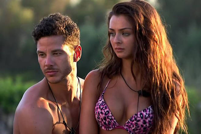 Scott and Kady came third in Love Island
