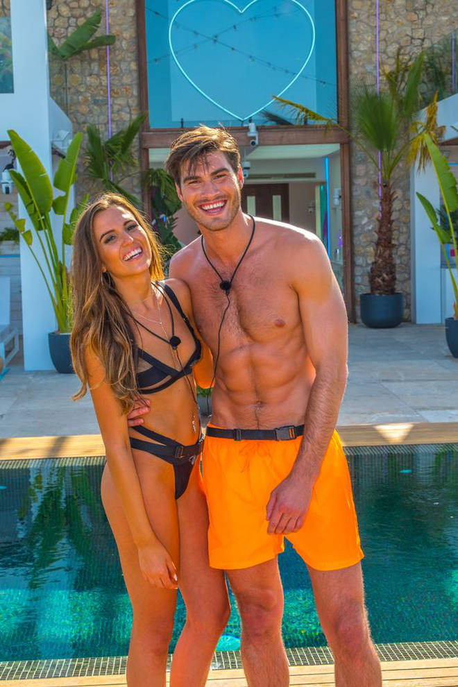 Justin was coupled up with Millie on Love Island Australia