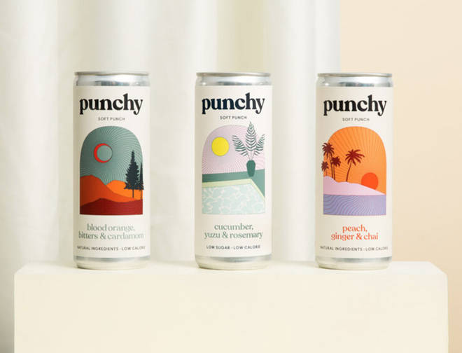 Punchy non alcoholic cocktails