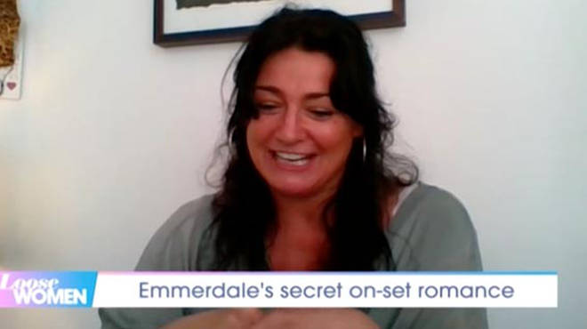 Natalie J. Robb appeared on Loose Women