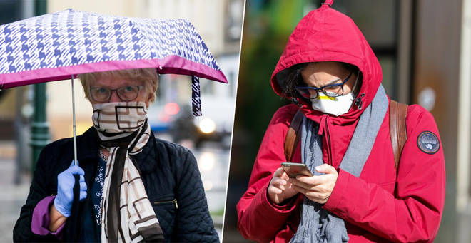 Experts have warned against wearing scarves as face masks