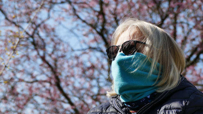 Scarves may not be as affective as face masks