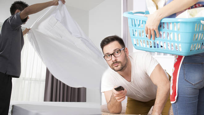 The shocking study reveals the cleaning habits of men and women
