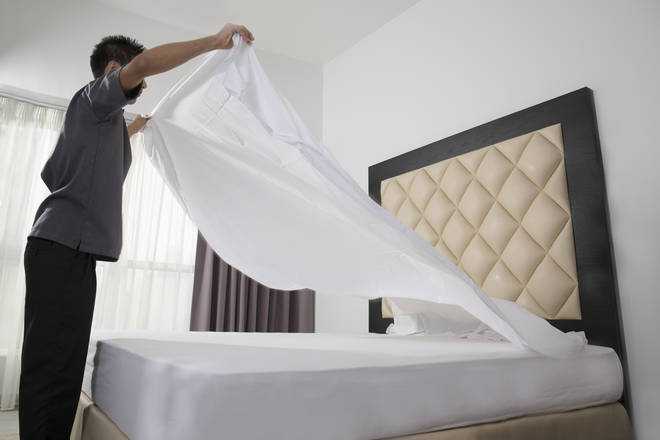 Only one third of men have never changed their bed sheets