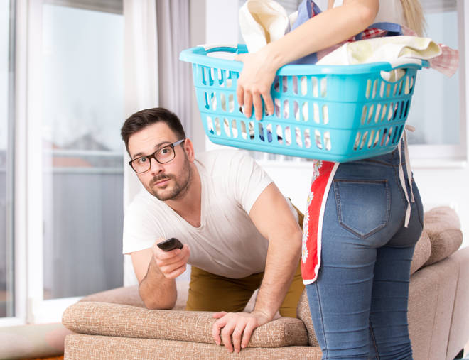 The research also showed that most households still have the woman doing most, if not all, the household chores