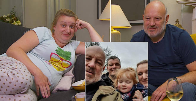 Daisy May and Paul Cooper are on Celebrity Gogglebox