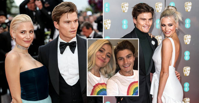 Pixie Lott and Oliver Cheshire met in 2010
