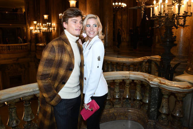 Pixie and Oliver got engaged in 2016 after he proposed in London