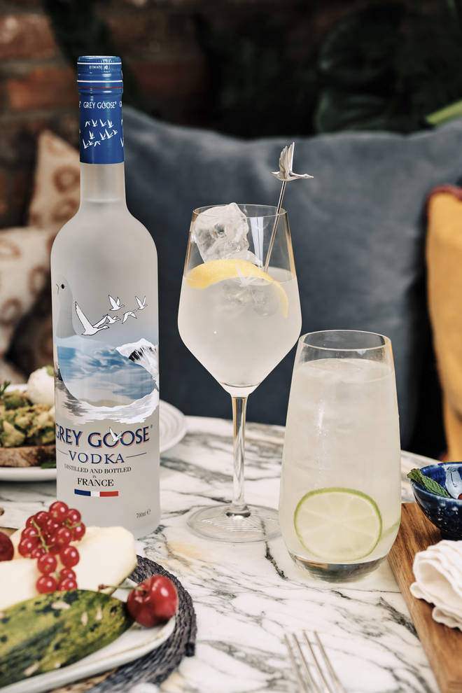 This recipe was provided by Grey Goose, but you can use any vodka