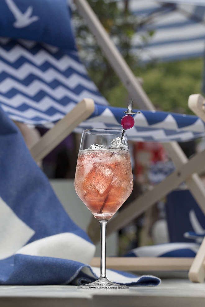 A twist on Grey Goose's classic Le Grand Fizz, the ultimate spritz to enjoy this summer