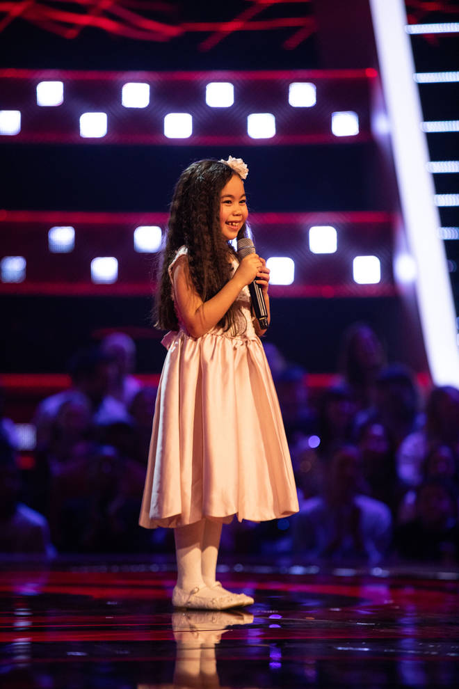 You have to be between 7-14 to audition for The Voice Kids