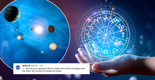 Nasa has clarified the new zodiac sign