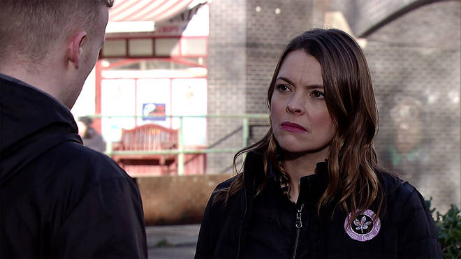 Katee Ford has played Tracy Barlow on Coronation Street since 2002