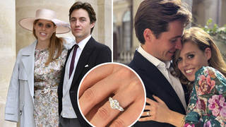 Princess Beatrice and Edoardo Mapelli Mozzi wed today at Windsor Castle