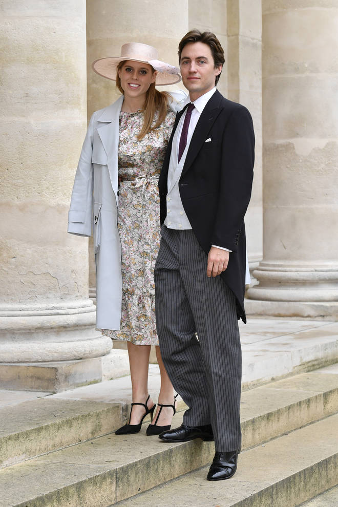 Princess Beatrice and Edoardo Mapelli Mozzi's original wedding plans were ruined by COVID-19