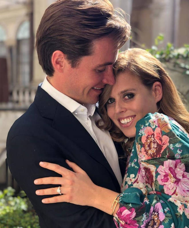 The couple announced their engagement in September last year
