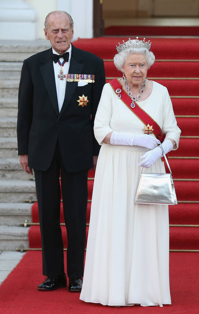 The Queen and Prince Philip were reportedly part of the small gathering