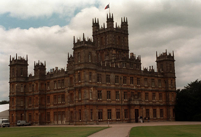 Highclere Castle is the setting for Downton Abbey