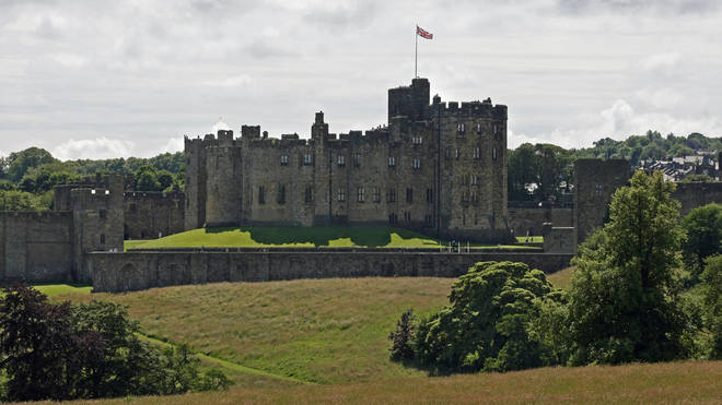 Alnwick Castle has also been used to film Downton Abbey