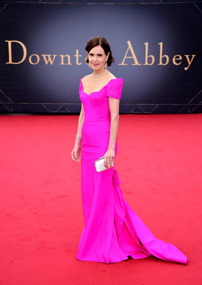 Elizabeth McGovern starred as Cora Crawley in Downton