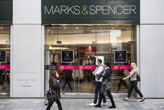M&S have struggled with sales in the coronavirus lockdown