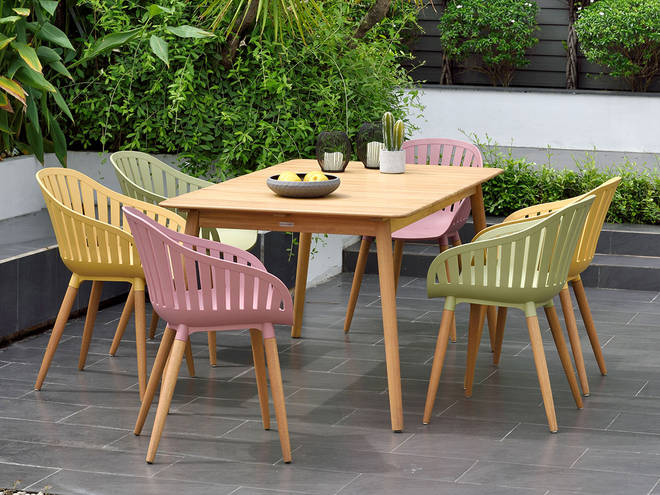 Lifestyle Garden's beautiful garden sets are so easy to set up