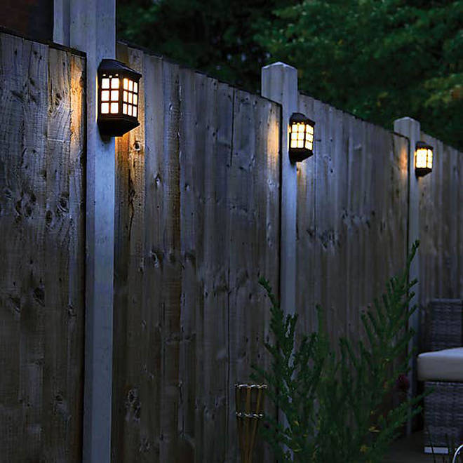 Solar lights are a great cost-effective way to (literally) brighten up your garden