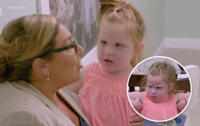 Viewers of the show were sad watching the toddler speak out