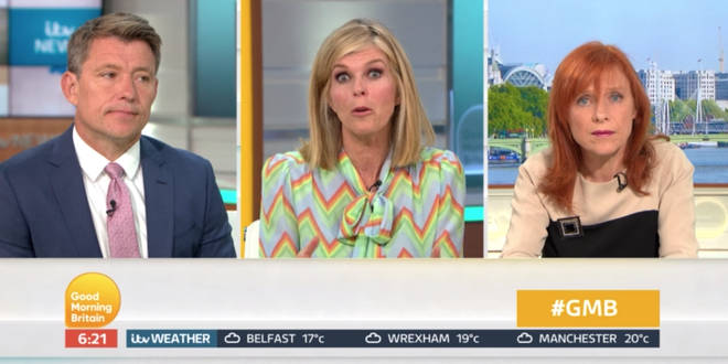 Dr Hilary is taking a break along with Susanna Reid and Piers Morgan